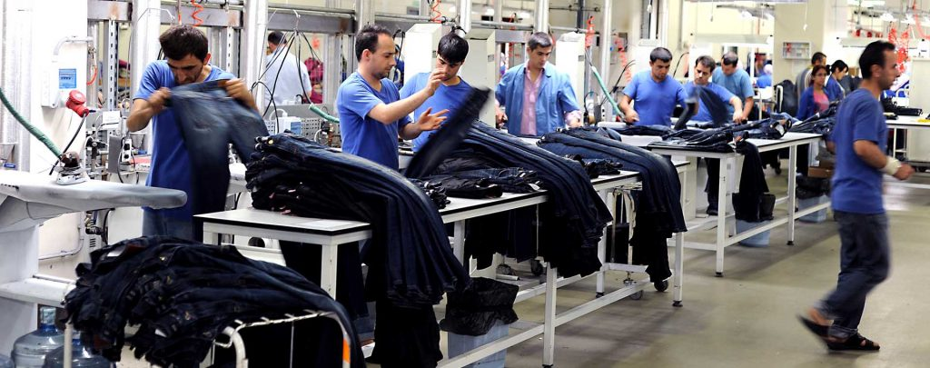Jeans manufacturer in Turkey