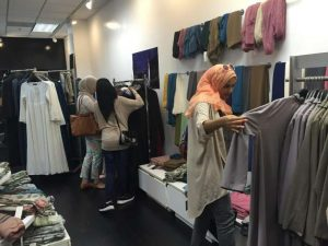 Clothing sales online