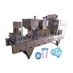 Cup filling equipment
