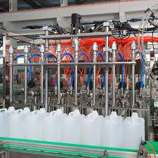Detergent filling machines