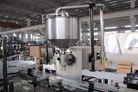 Filling machine factory