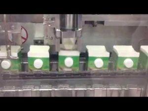 Milk carton filling machine