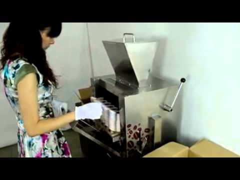 coffee capsule filling machine