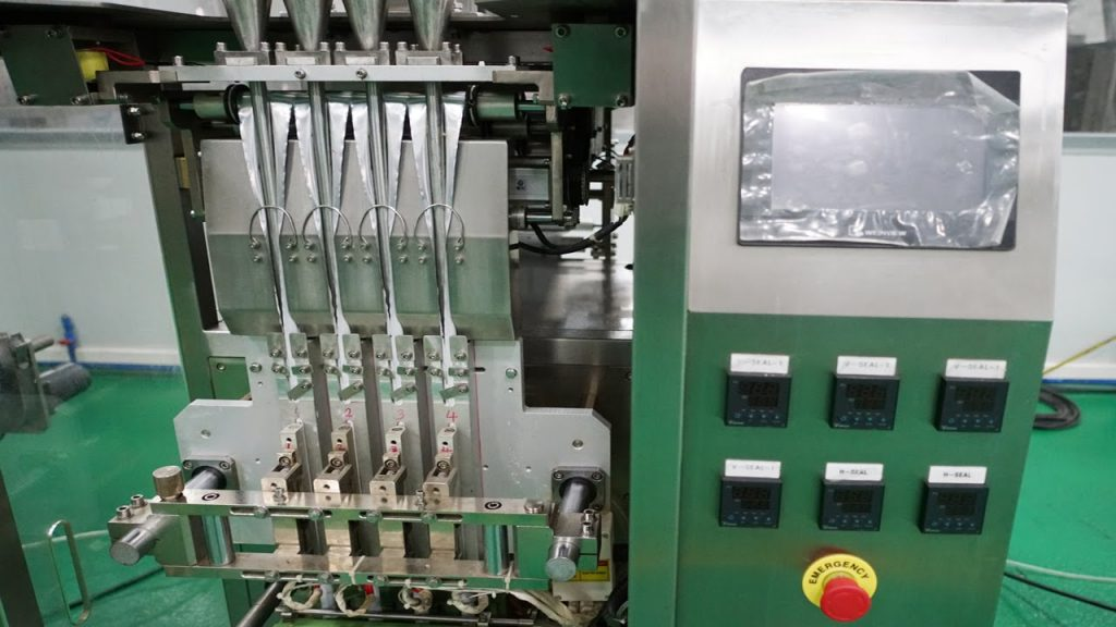 liquid chocolate filling machine