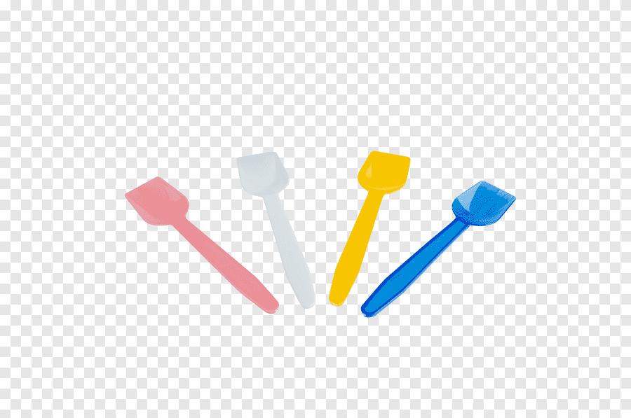 Wholesale colored plastic spoons