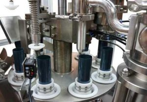 squeeze tube filling machine