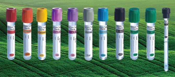 Blood collection tubes manufacturers India