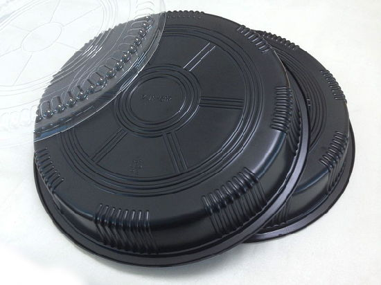 wholesale plastic black plates