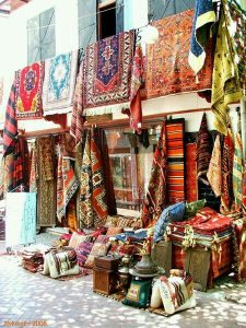Turkish rug market