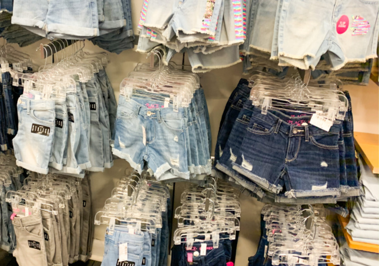 Children's shorts wholesale in Turkey