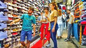 Istanbul shoes market