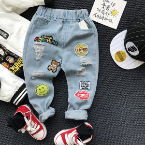 Wholesale baby jeans