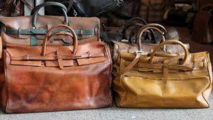 leather bag in bulk