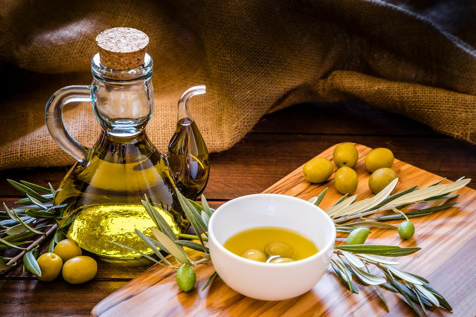 Olive oil shop in London