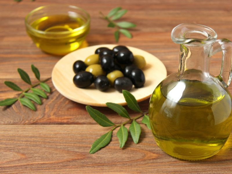 Palestinian olive oil London
