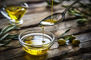 Imported extra virgin olive oil