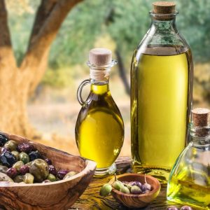 Imported olive oil from Italy