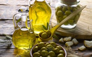 Organic olive oil market