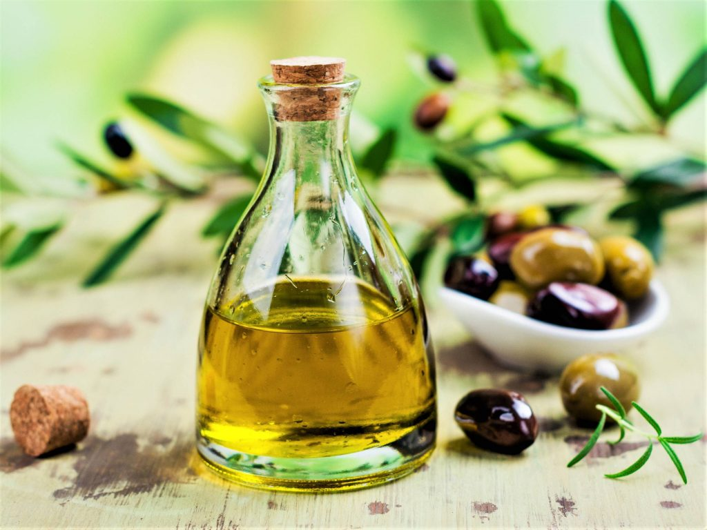 imported Spanish olive oil
